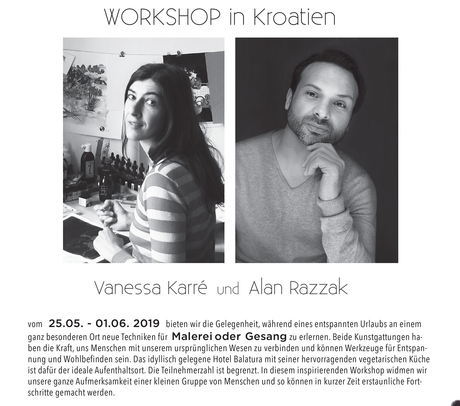 WORKSHOP click on pic for more info